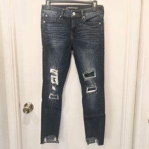 Distressed Ankle Jeans, Expeess